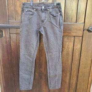 PacSun Mens 30x30 Gray Wash Denim Skinny Jeans
